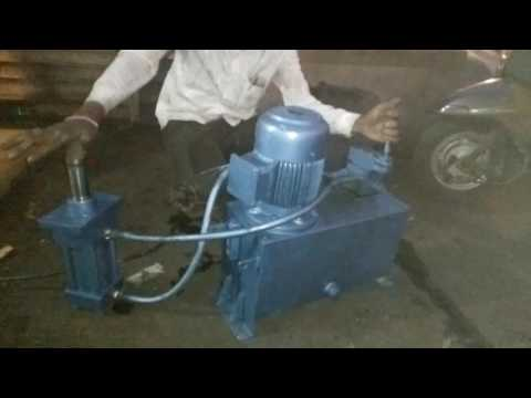 How to use hydraulic power pack unit with hydraulic cylinder to buy call on 9819922051