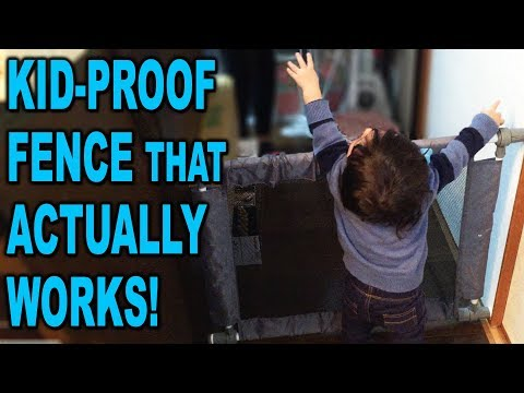 """SmartAngel - """"Simple Fence"""" Baby Barrier - Unboxing and Review - Clueless Dad"""