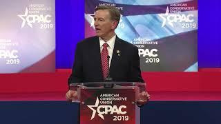 Congressman <b>Paul Gosar</b> Slams Socialism during CPAC speech