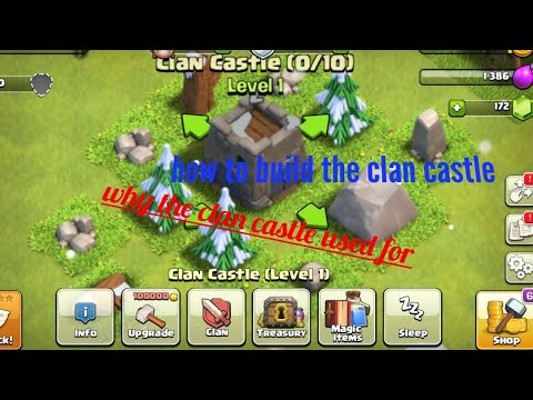 HOW TO REBUILD CLAN CASTLE / MAIN THINGS ABOUT CLAN CASTLE