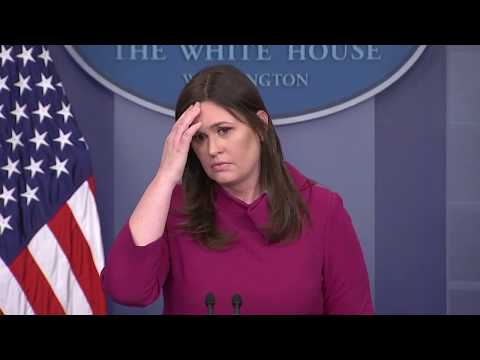 White House Press Briefing: Florida shooting, gun control and Russia indictments