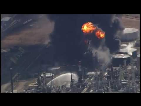 Explosions at the Husky Energy refinery/KARE-TV