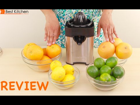 Cuisinart ccj 100 citrus juicer youtube.