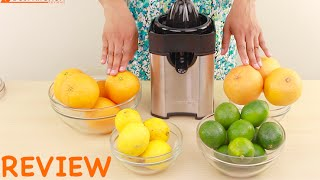 Cuisinart Pulp Control Citrus Juicer Review