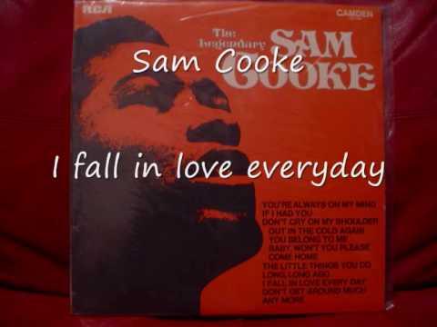 Sam Cooke-I fall in love everyday.wmv