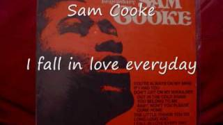 Sam Cooke-I fall in love everyday.wmv