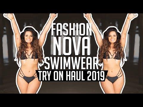 FASHION NOVA SWIMWEAR TRY ON HAUL 2019 │ Gauge Girl Training