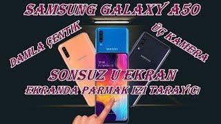 Samsung Galaxy A50 ♦️ Sonsuz U Ekran ve Ekranda Parmak İzi Tarayıcı ♣️