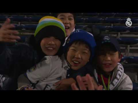 Real Madrid's Young Japanese Fans Enjoy Training Session!