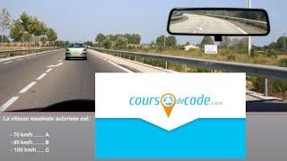 Examen code de la route 2018 - code de la route gratuit (mise en ligne aout 2013)
