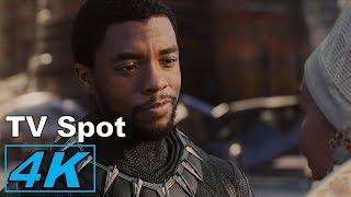Black Panther - King TV Spot 4K