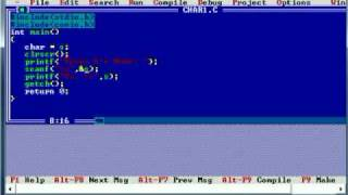 C Programming Tutorial 13 scanf printf char* or String pointer data types