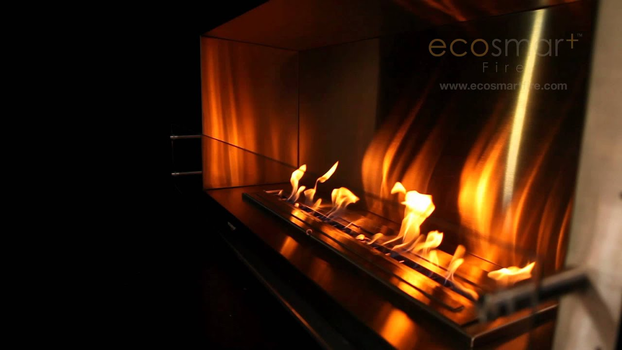 ecosmart fire firebox 1200ss youtube