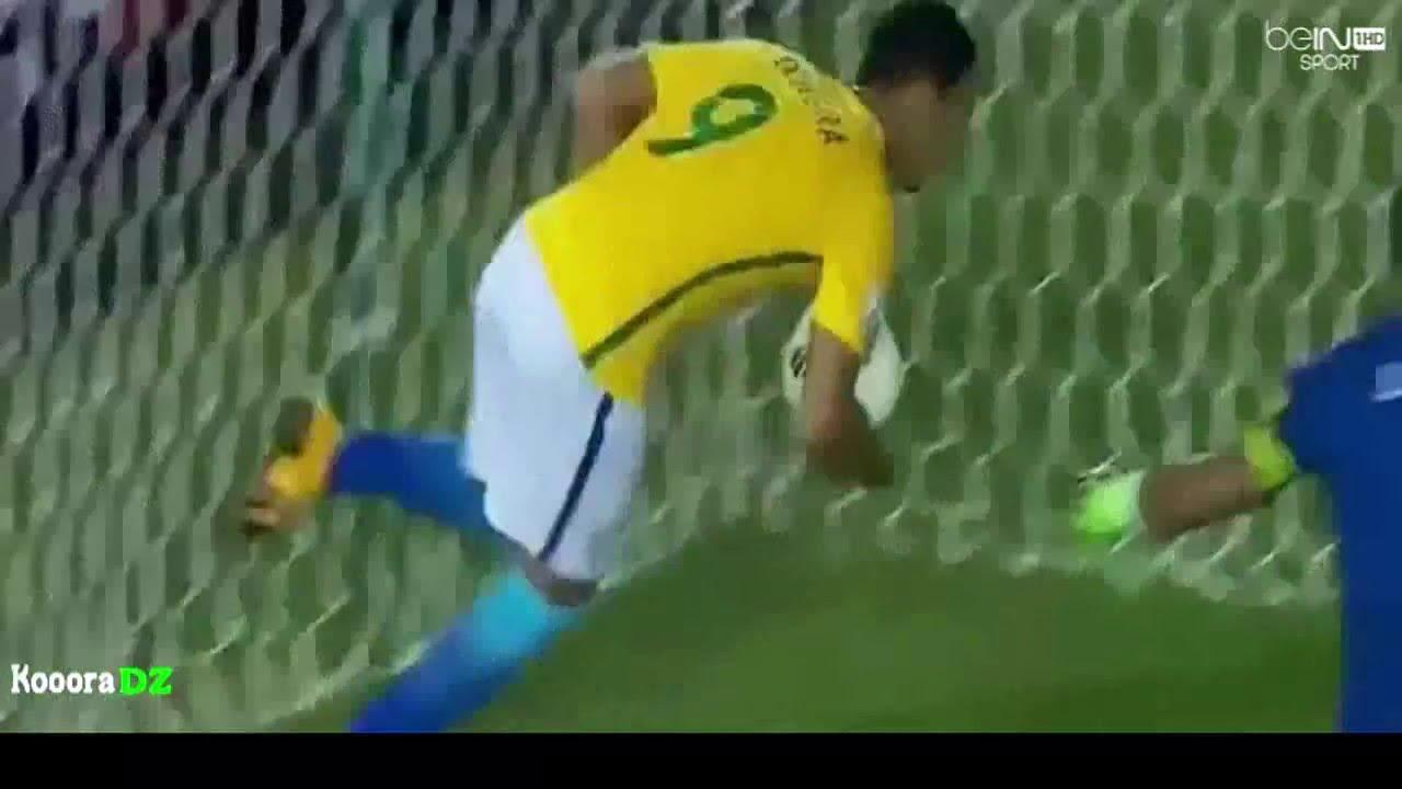 Download أهداف مباراة  الباراغواي و البرازيل  2-2(حفيظ دراجي)Paraguay vs Brazil 2-2
