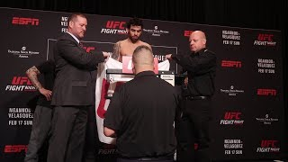 Renan Barao misses weight at UFC on ESPN 1 Official Weigh-Ins