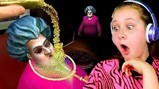 GLITTER PRANK ON SCARY TEACHER 3D!!