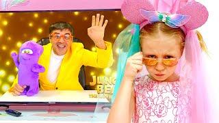 Nastya tham gia cuộc thi khiêu vũ thiếu nhi