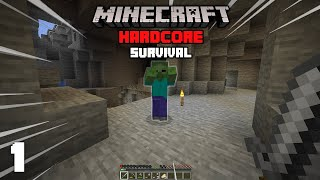 Minecraft: A Great Start! - 1.16 Hardcore Survival Let's Play | 1