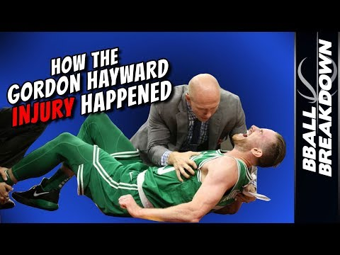How The GORDON HAYWARD INJURY Happened