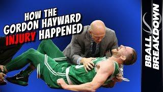 How The GORDON HAYWARD INJURY Happened