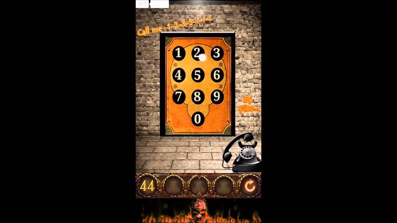 & 100 Doors Hell Prison Escape Level 44 - Walkthrough - YouTube