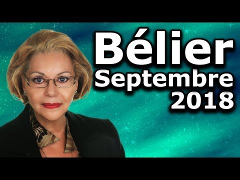 Horoscope Bélier Septembre 2018