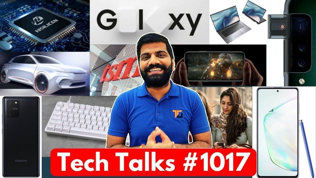 Tech Talks # 1017 - Lancement S10 Lite & Note 10 Lite, Brevet Oppo Side PopUp, A14 5 nm, date de lancement S11 + vidéo