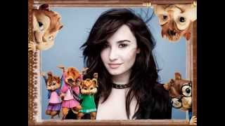 """Demi Lovato - Let It Go ( from """"Frozen"""" ) Alvin and the Chipmunks version"""