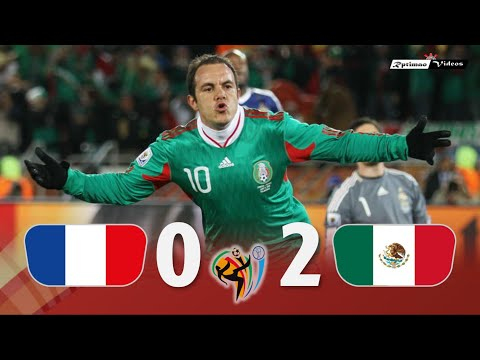 France 0 X 2 Mexico ● 2010 World Cup Extended Goals \u0026 Highlights HD