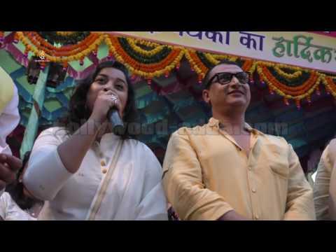 Bhojpuri Actress Anara Gupta, Avdesh Mishra, Seema Singh Dance With Dahi Handi 2016
