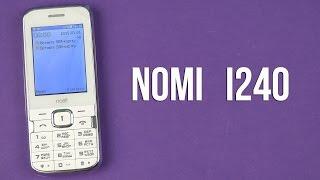 Распаковка Nomi i240 White