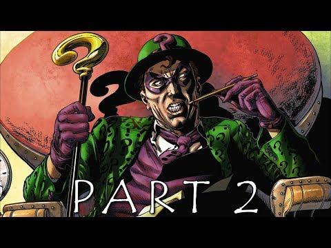 BATMAN SEASON 2 THE ENEMY WITHIN EPISODE 1 Walkthrough Gameplay Part 2 - Enigma (Telltale)