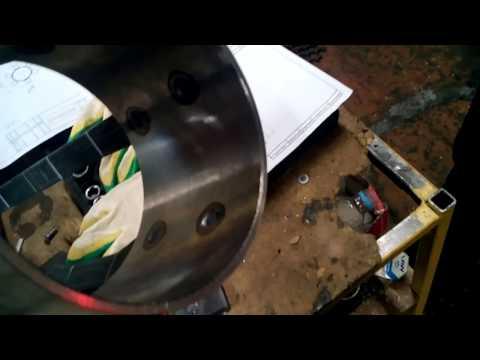 Сварка листовой стали 4+4 мм