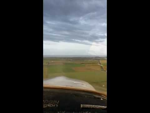 Long Approach to Wick (EGPC) Airport, SCOTLAND, ROBIN AIGLON 180 HP