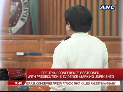 Enrile, Reyes, Napoles attend pre-trial conference on pork barrel scam