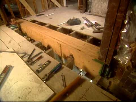 How To Install A Load Bearing Beam Shingle Style Home Bob Vila Eps 1403