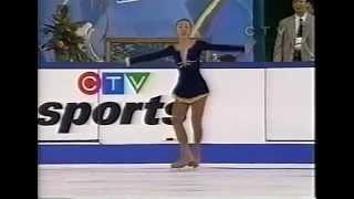Fumie Suguri 村主 章枝 (JPN) - 1998 Skate Canada International, Ladies' Free Skate 村主章枝 検索動画 26