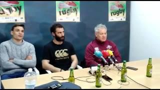 Georgia en la rueda de prensa España 10-20 Georgia en Medina del Campo (parte 3)