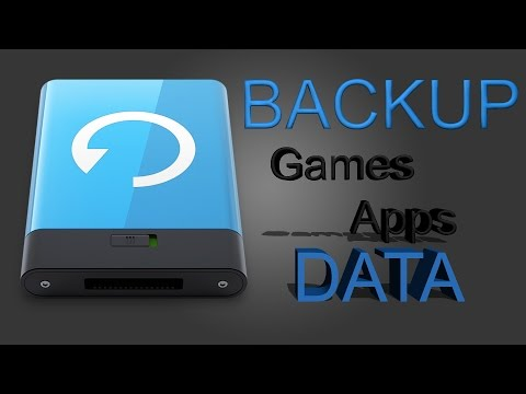 Backup Game And APP DATA Android Tutorial! NO ROOT Needed! And Restore!