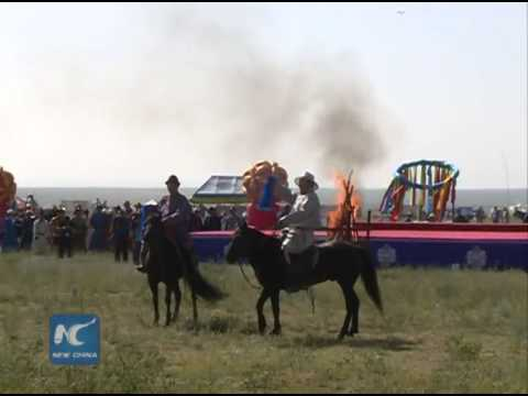 An iconic Tibetan horse festival  with politics in the wings