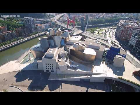 Guggenheim Museum, Bilbao, Spain  -  Dji Mavic Pro drone -  Skydronauts