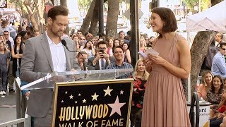 Shane West Speech at Mandy Moore's Hollywood Walk of Fame Ceremony