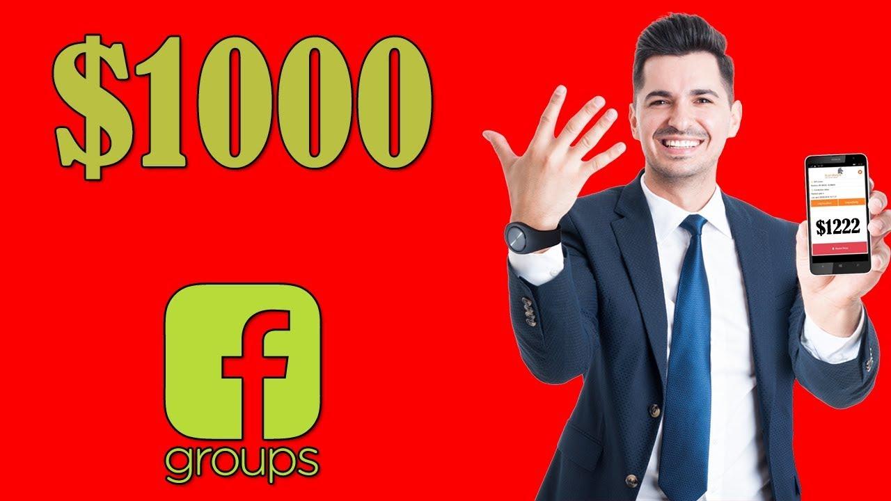 ربح المال من الانترنت عبر Facebook Groups   كنز اخفي عنك ????