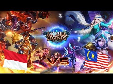 Mobile Legends - National Arena Contest INDONESIA VS MALAYSIA   Live Stream