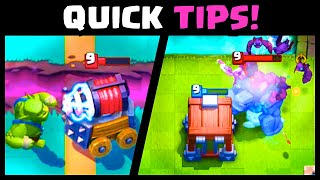 QUICK *GOBLIN CAGE* TIPS & TRICKS | Clash Royale Goblin Cage Strategy Tips