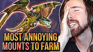 "Asmongold Reacts To The ""Top 10 Most Annoying Mounts to Farm in WoW"" 