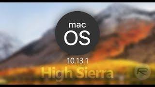 Mac OS High Sierra 10.13 vs 10.13.1 Speed Test (Surprise Awaits!!)