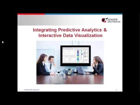Integrating Predictive Modeling & Interactive Data Visualization