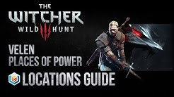 The Witcher 3 Wild Hunt All Velen Places Of Power Locations Guide