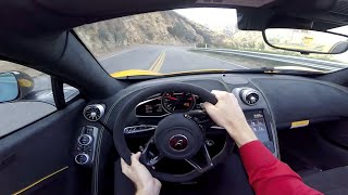 2015 McLaren 650S Spider - WR TV POV Canyon Drive